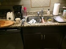 kitchen sink before doing somethingg